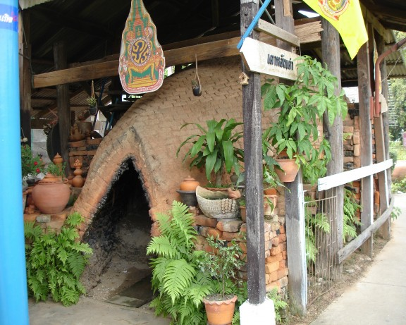 Turtle Back Pottery Kiln, Koh Kret