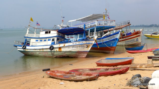 Fishing Boats at Bang Saray