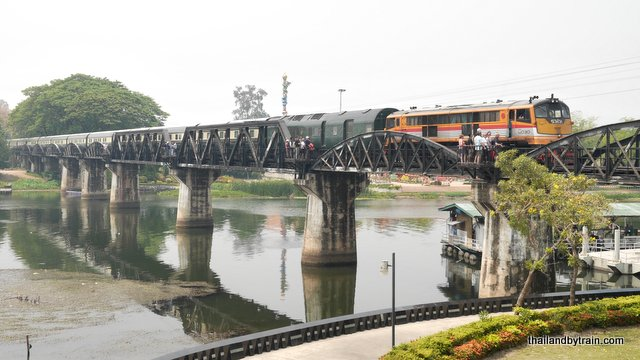 The Orient Express crosses the River Kwai